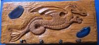 cuelga llaves dragón