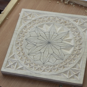 Talla chip carving