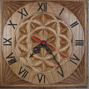 Relojes en castaño
