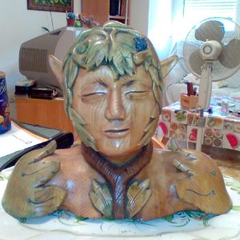 ninfa pintada con anilinas