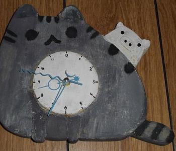 Reloj kawaii