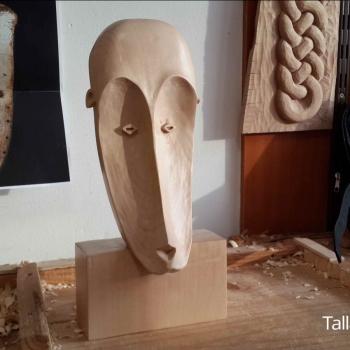 Máscara Africana Tallada por Francisco_20