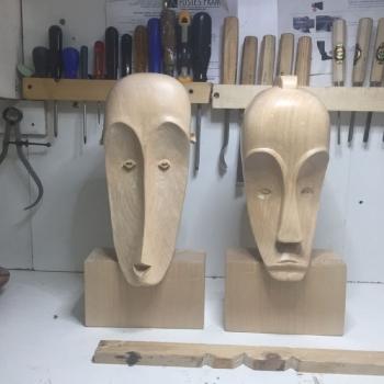 Máscara Africana Tallada por Francisco_37
